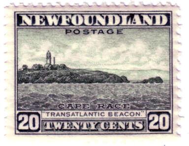 Cape Race Stamp