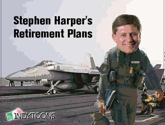 Indytoons | Harper's Retirement Plans