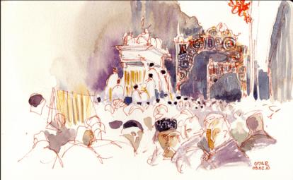 Procession Santa Agatha