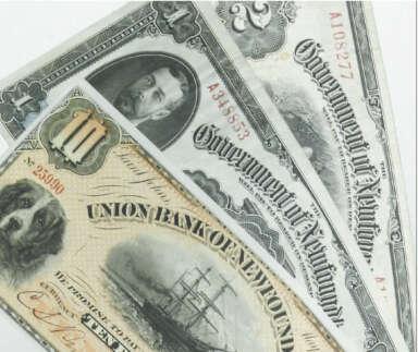 pre-Confederation Newfoundland bank notes