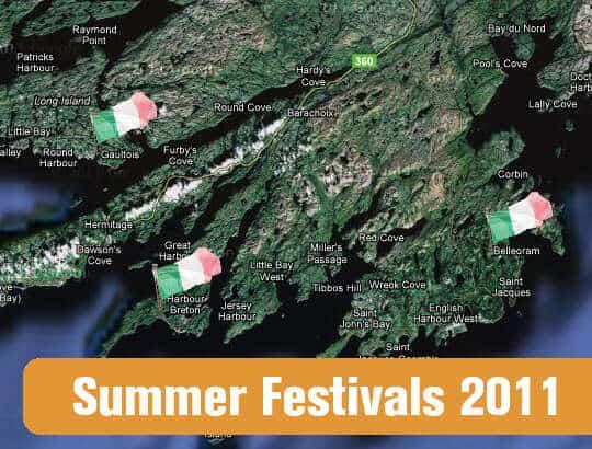MAP: Summer Festivals 2011
