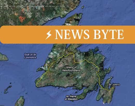 Ice Islands drift into White Bay