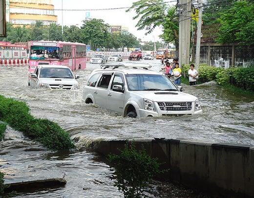 Bangkok under water