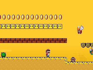 Just for Fun: Super Mario World Flash2