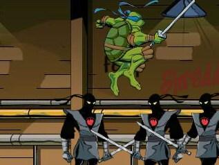 Just For Fun: Ninja Turtles Arcade Game