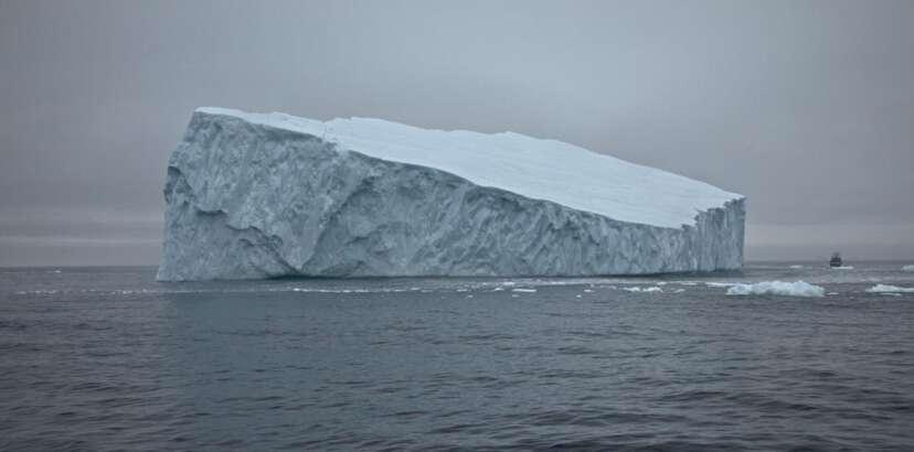 Large iceberg near St. Anthony