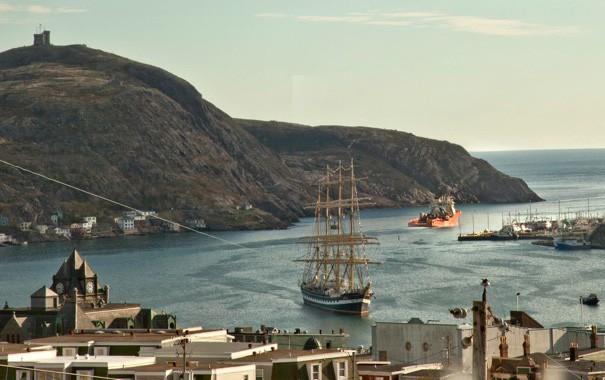 World's second biggest sailing vessel in St. John's