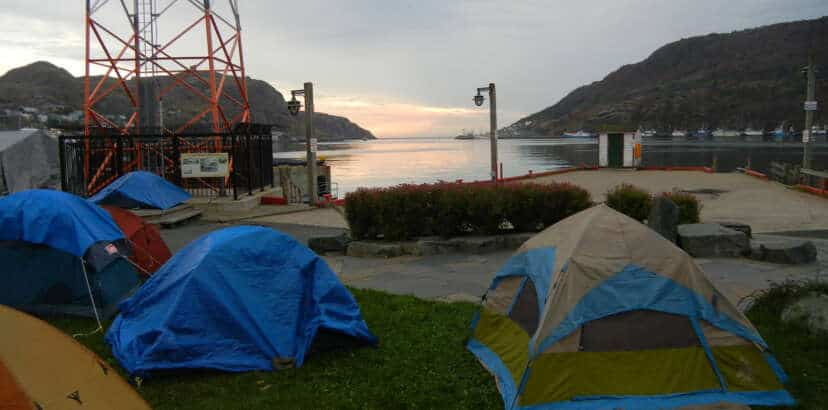 Citizens to re-Occupy Harbourside Park