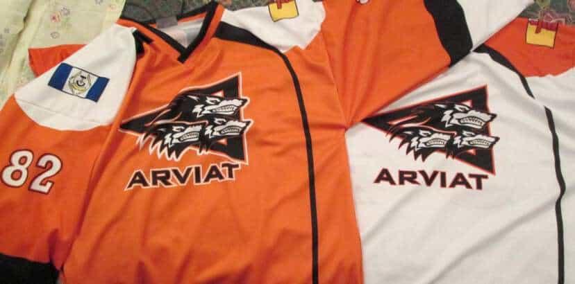 Hockey nights in Arviat