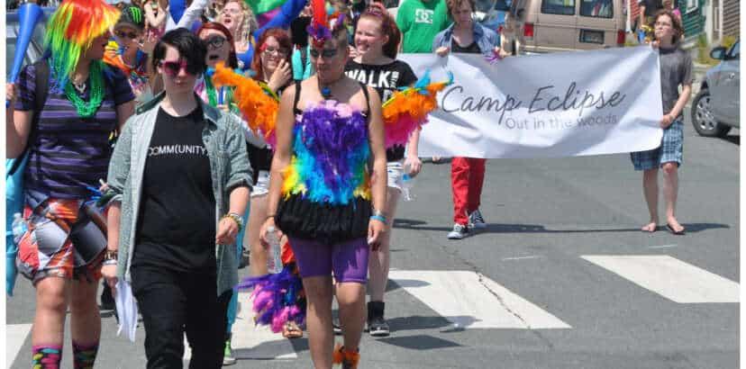 PHOTO ESSAY: St. John's Pride Parade 2013