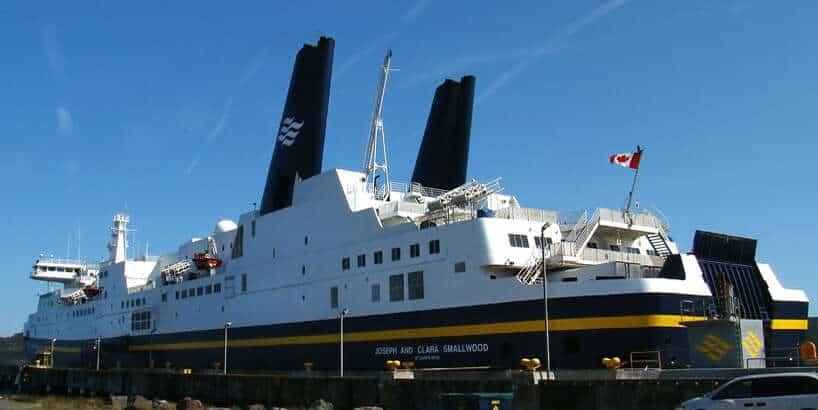 A ferry, ferry big problem