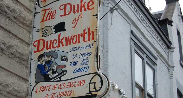 A night at the Duke…