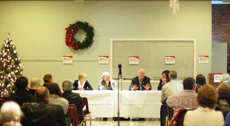 Town hall implores Canadians to resist Harper Government's massive health care cuts