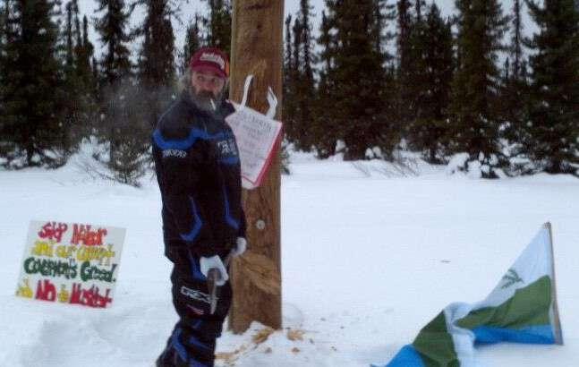 """I have a wish"": Labrador land defender Dennis Burden"