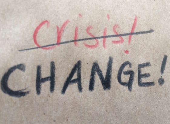 Deficit crisis a chance for change