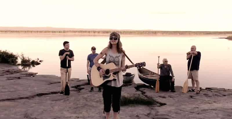 """""""Don't kill the river,"""" sings Labrador songwriter"""