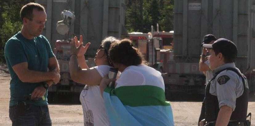 Mud Lake community leader arrested at Muskrat Falls