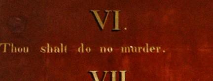 The Capitalist God's Ten Commandments