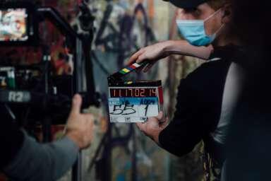Hudson & Rex Season 3 slate shot.